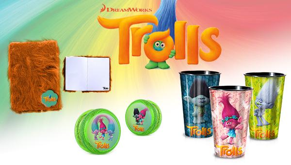 Bild: Wir verlosen tolle Goodies zu TROLLS!