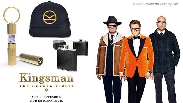 Bild: Fanpakete zu KINGSMAN: THE GOLDEN CIRCLE gewinnen!