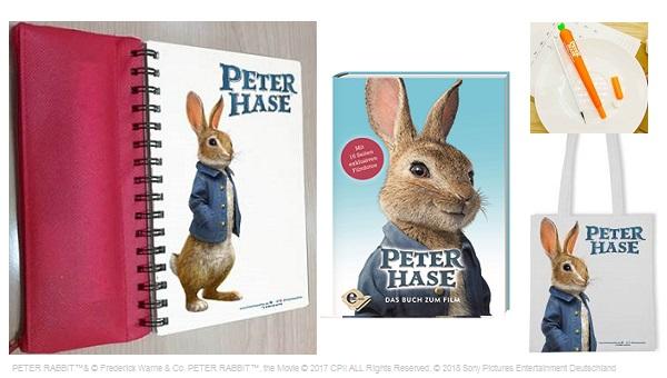 Bild: Fanpakete zu PETER HASE gewinnen!