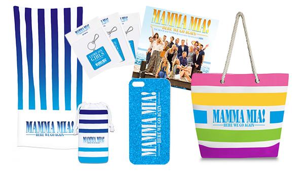 Bild: Fanpaket zu MAMMA MIA! HERE WE GO AGAIN gewinnen!