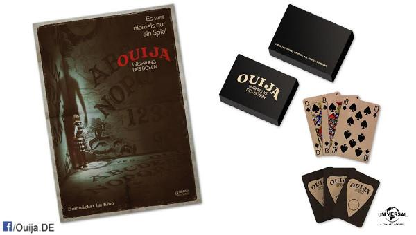 Bild: Ouija: Ursprung des Bösen - Spielkartensets zu gewinnen!