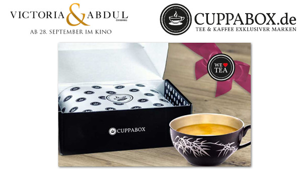 Bild: Victoria & Abdul - Cuppaboxen zum Film