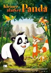 Plakatmotiv: Kleiner starker Panda