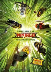Plakatmotiv: The LEGO Ninjago Movie