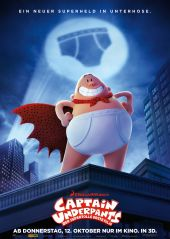 Plakatmotiv: Captain Underpants - Der supertolle erste Film