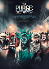 Plakatmotiv: The Purge: Election Year