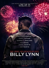 Plakatmotiv: Billy Lynn's Long Halftime Walk 3D