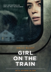 Plakatmotiv: Girl on the Train