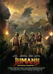 Plakatmotiv: Jumanji: Willkommen im Dschungel
