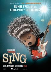 Plakatmotiv: Sing