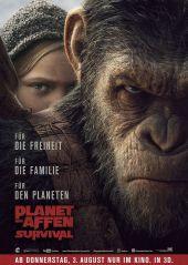 Plakatmotiv: Planet der Affen: Survival