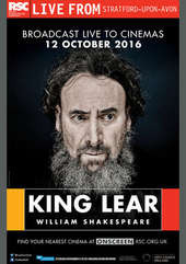 Plakatmotiv: Royal Shakespeare Company 2016: King Lear