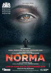 Plakatmotiv: Royal Opera House 2016/17: Norma (Bellini)