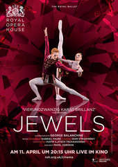 Plakatmotiv: Royal Opera House 2016/17: Jewels (Balanchine)