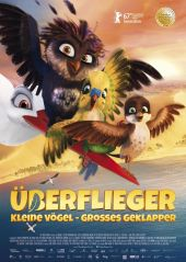 Plakatmotiv: Überflieger - Kleine Vögel, großes Geklapper