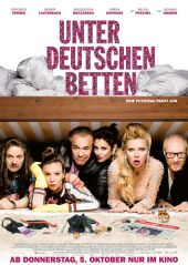 Plakatmotiv: Unter deutschen Betten