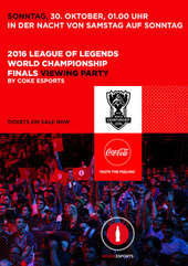 Plakatmotiv: League of Legends World Championship Finals 2016