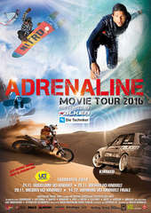 Plakatmotiv: Adrenaline Movie Tour 2016