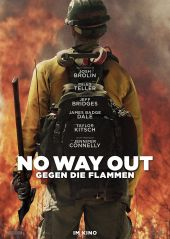 Plakatmotiv: No way out - Gegen die Flammen