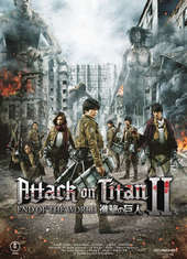 Plakatmotiv: Anime Night 2017: Attack on Titan Pt. 2 - End of the World