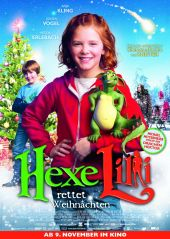Plakatmotiv: Hexe Lilli rettet Weihnachten