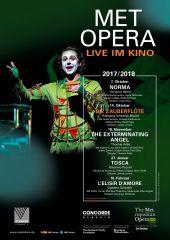 Plakatmotiv: Met Opera 2017/18: Die Zauberflöte (Mozart)