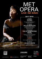 Plakatmotiv: Met Opera 2017/18: Tosca (Puccini)