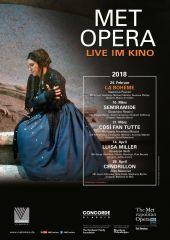 Plakatmotiv: Met Opera 2017/18: La Boheme (Puccini)