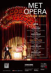 Plakatmotiv: Met Opera 2017/18: Cosi Fan Tutte (Mozart)