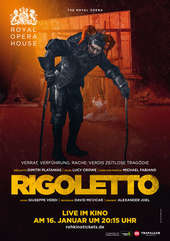 Plakatmotiv: Royal Opera House 2017/18: Rigoletto