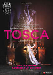Plakatmotiv: Royal Opera House 2017/18: Tosca