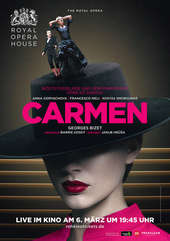 Plakatmotiv: Royal Opera House 2017/18: Carmen