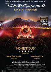 Plakatmotiv: David Gilmour Live at Pompeii