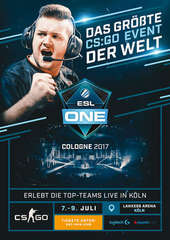 Plakatmotiv: ESL One Cologne 2017 - CS:GO