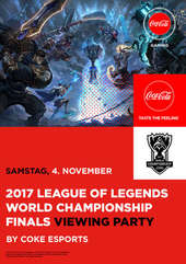Plakatmotiv: League of Legends World Championship Finals 2017