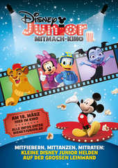 Plakatmotiv: Disney Junior Mitmach-Kino 3/2018