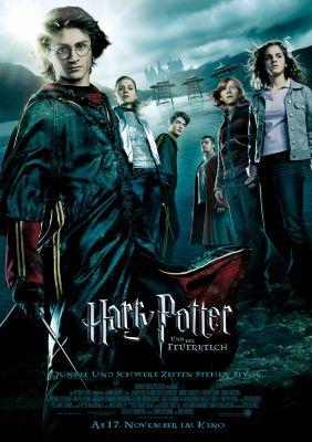 Plakatmotiv: Harry Potter und der Feuerkelch