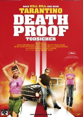 Plakatmotiv: Quentin Tarantinos Death Proof - Todsicher
