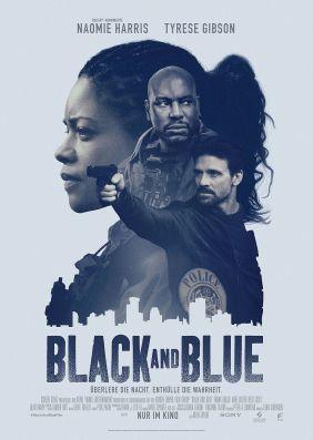 Plakatmotiv: Black and Blue