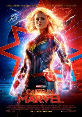 Plakatmotiv: Captain Marvel