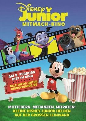 Plakatmotiv: Disney Junior Mitmachkino