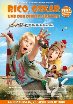 Plakatmotiv: Rico, Oskar und der Diebstahlstein