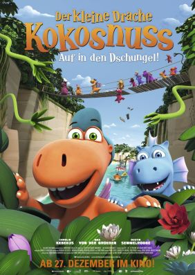 Plakatmotiv: Der kleine Drache Kokosnuss - Auf in den Dschungel!