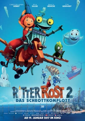 Plakatmotiv: Ritter Rost 2 - Das Schrottkomplott