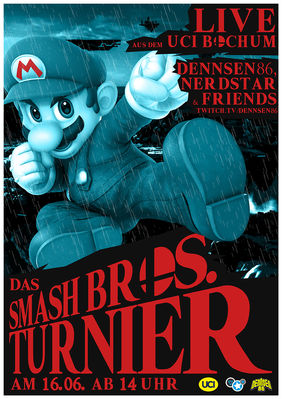 Plakatmotiv: Super Smash Bros. auf der Switch
