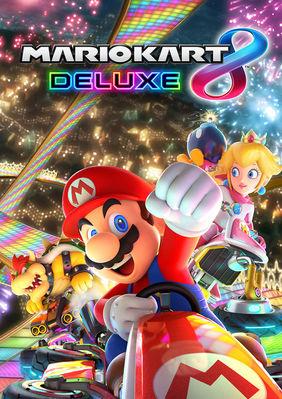 Plakatmotiv: Mariokart auf Nintendo Switch