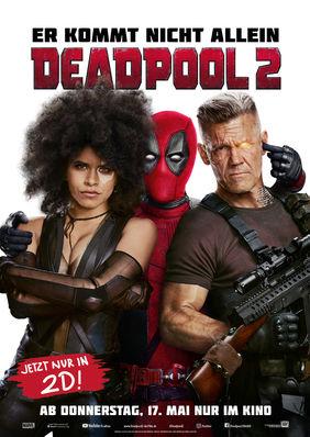 Plakatmotiv: Deadpool 2