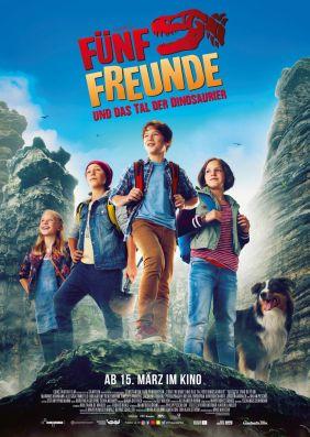 Plakatmotiv: Fünf Freunde und das Tal der Dinosaurier