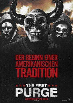 Plakatmotiv: The First Purge