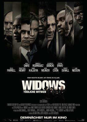 Plakatmotiv: Widows - Tödliche Witwen
